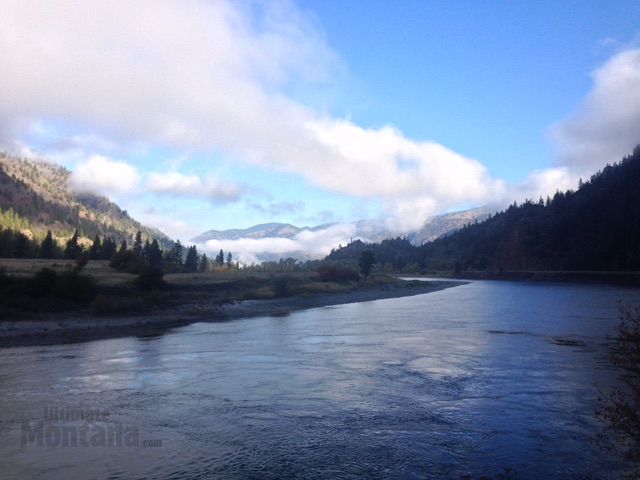 Clarks Fork River near Trout Creek Montana