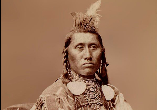 Chief Pretty Eagle St. Xavier Montana