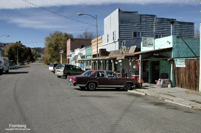 Downtown Fromberg Montana