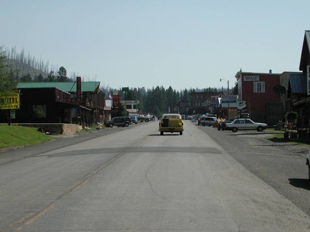 Cooke City Downtown