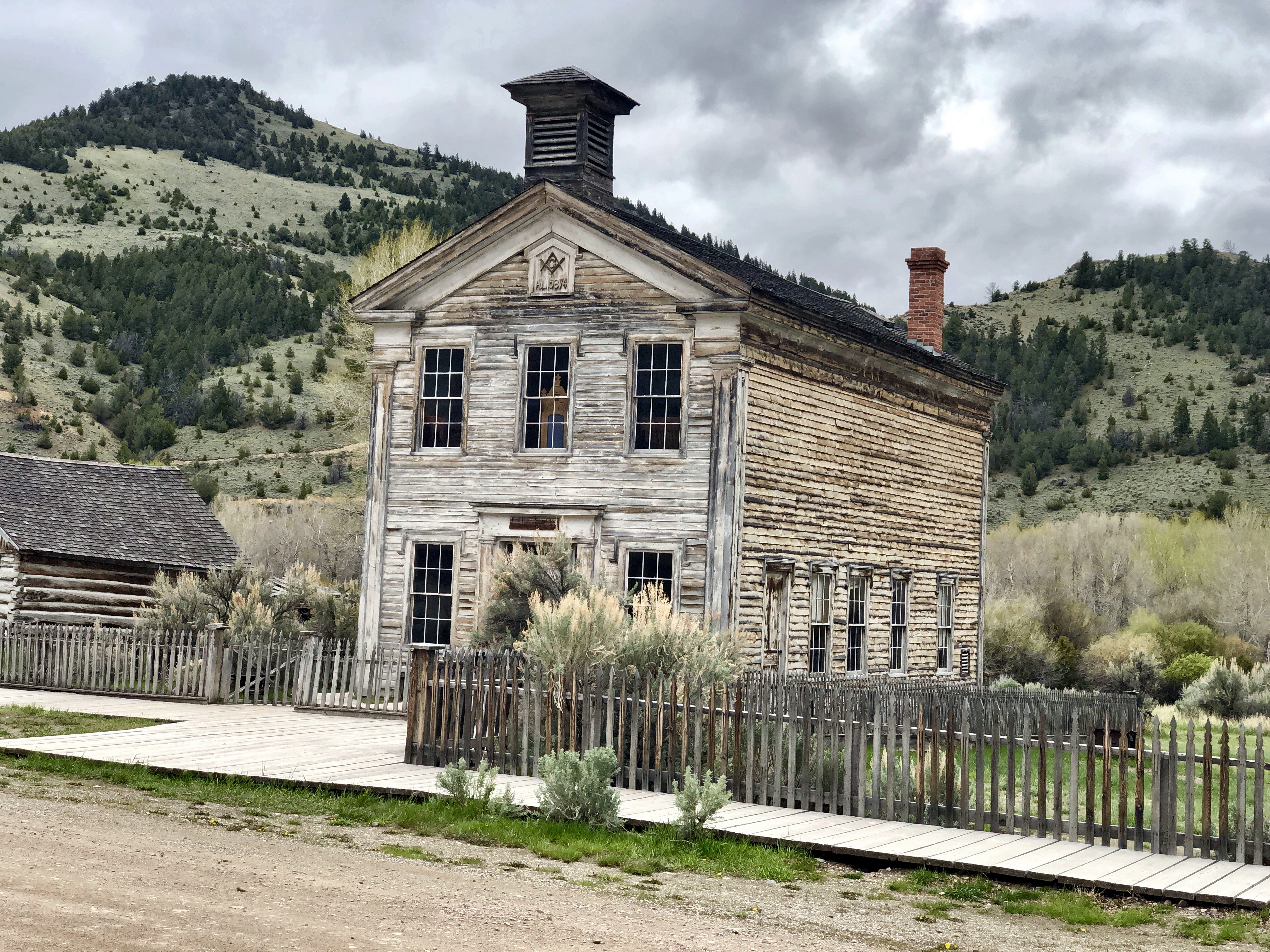 Bannack Ghost Town State Park Montana