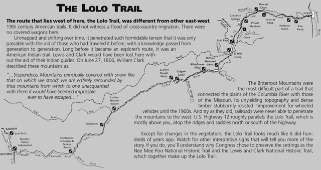 The Lolo Trail Lolo Montana