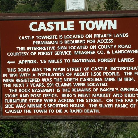 Castle Ghost Town