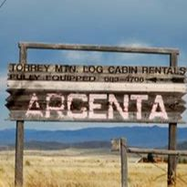 Argenta Ghost Town