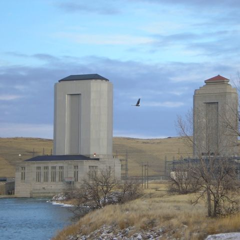 Fort Peck Dam and Lake