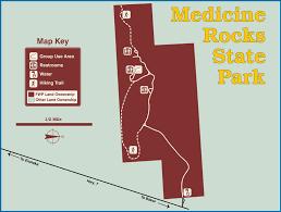 Medicine Rocks State Park Baker Montana