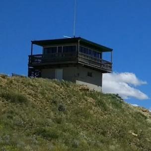 Diamond Butte Lookout Cabin