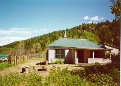 West Bridger Forest Service Cabin Montana