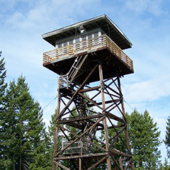 Mission Lookout Cabin