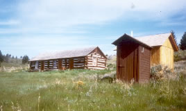 Eagle Guard Station Forest Service Cabin Montana