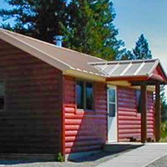 Calf Creek Cabin