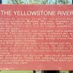 The Yellowstone River - Historical Marker