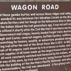 Wagon Road - Historical Marker