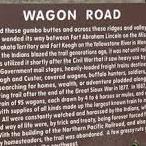 Wagon Road - Historical Marker