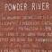 Powder River - Historical Marker