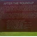 After the Roundup - Historical Marker