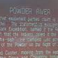 The Powder River Country - Historical Marker
