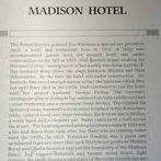 Madison Hotel - Historical Marker