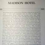 Madison Hotel - Historical Marker