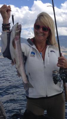 Trout Fishing Ennis Lake Montana