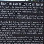 Junction of Big Horn & Yellowstone Rivers