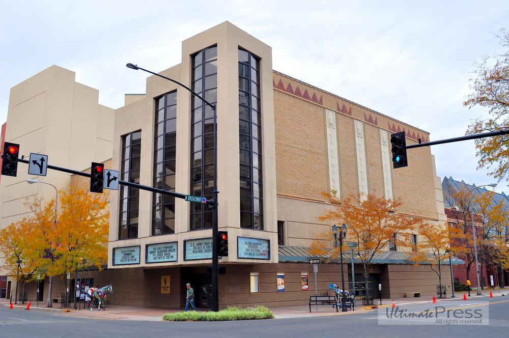 Alberta Bair Theater Billings Montana