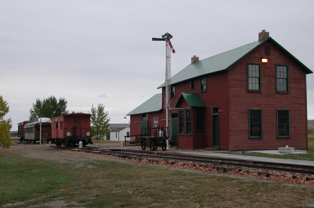 Big Horn County Museum - Rail Station