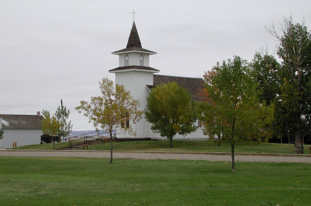 Big Horn County Museum - Christ Evangelical Lutheran Church