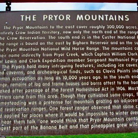 The Pryor Mountains
