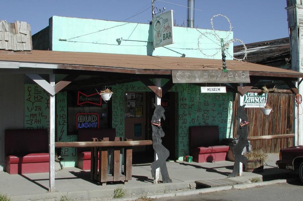 Little Cowboy Bar before the 2013 fire