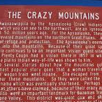 The Crazy Mountains Historical Marker