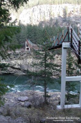 Kootenai  River Falls Bridge