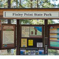 Flathead Lake State Park - Finley Point Unit and Campground