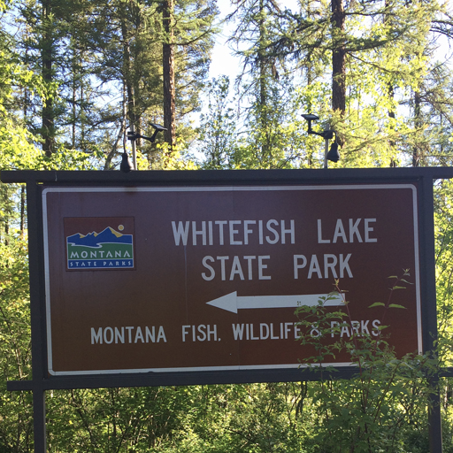 Whitefish Lake State Park and Campground