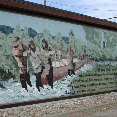 The City of Murals Whitehall Montana
