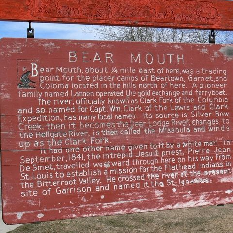 Bear Mouth Ghost Town