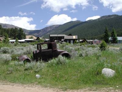 Elkhorn Ghost Town state Park Boulder Montana