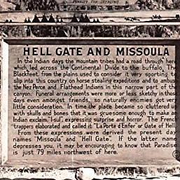 Hell Gate & Missoula