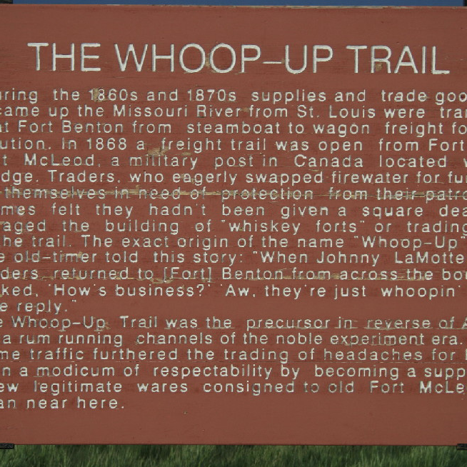 The Whoop-Up Trail