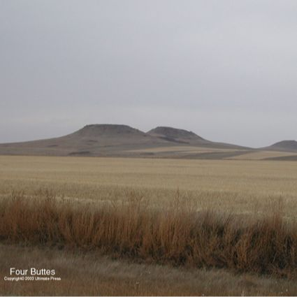 The Sweet Grass Hills Historical Marker