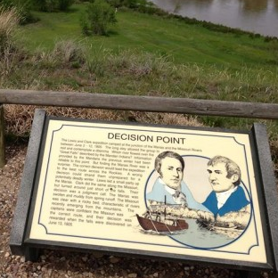 Lewis and Clark Decision Point