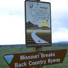 Missouri Breaks Backcountry Byway