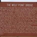 The Wolf Point Bridge
