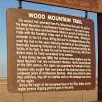 Wood Mountain Trail Historical Marker