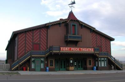 Fort Peck Theatre Montana