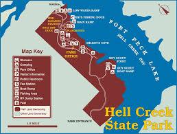 Hell Creek State Park Jordan Montana
