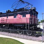 E57B The Last Electric Locomotive Historical Marker