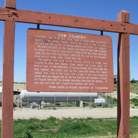 Cow Country Historical Marker