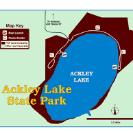 Ackley Lake State Park Campground
