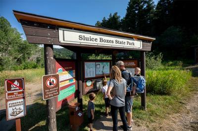 Sluice Boxes State Park Monarch Montana